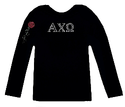 Alpha Chi Omega Crystal Shirt