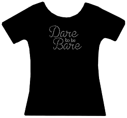 Dare to be Bare Rhinestone Shirt