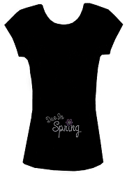 Due in Spring Maternity Tee Shirt