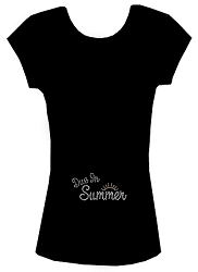 Due in Summer Maternity Tee Shirt