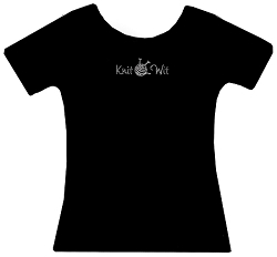 Knit Wit Rhinestone Tee Shirt
