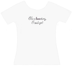It's A Love Story, I Said Yes! Shirt