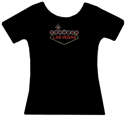 Las Vegas Wedding Rhinestone Shirt